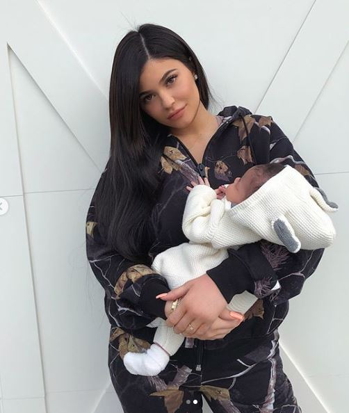 Kylie Jenner y Stormi