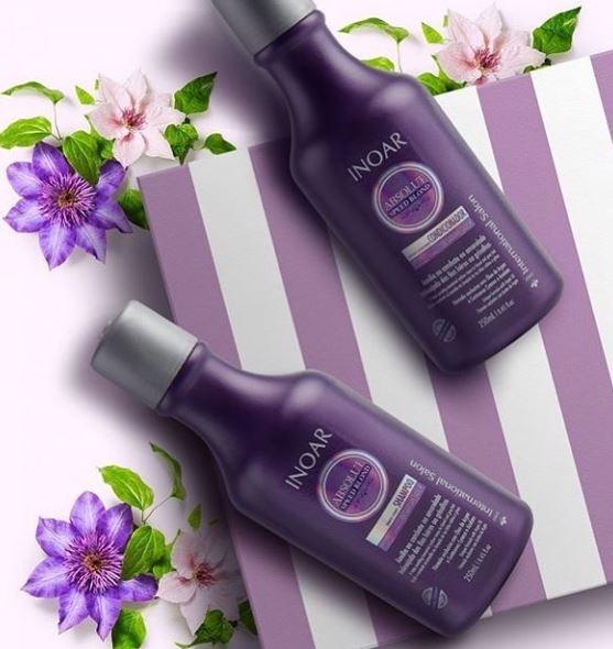 Shampoo violeta