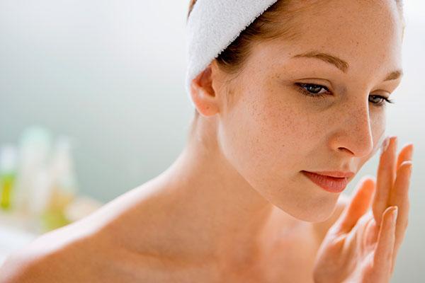 Hidratar la piel