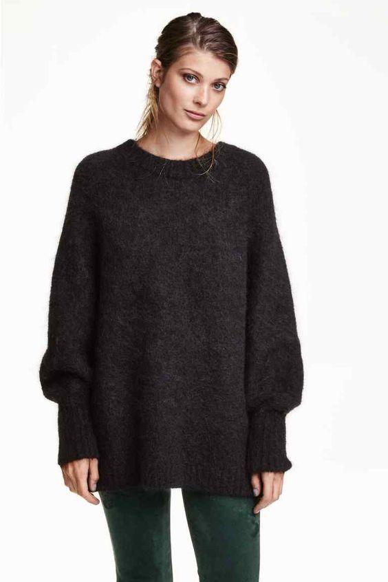 Suéter ancho