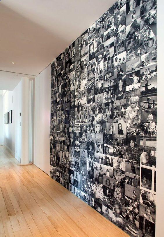 Muro de fotografías