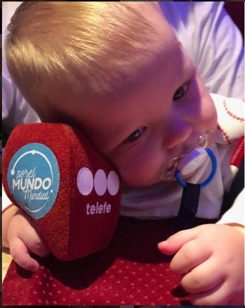 Mirko Wiebe, el bebé viajero