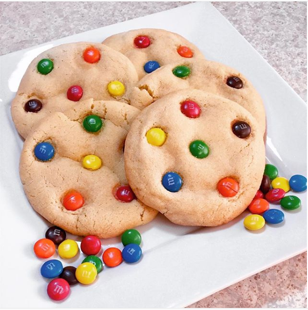 Galletas de M&M