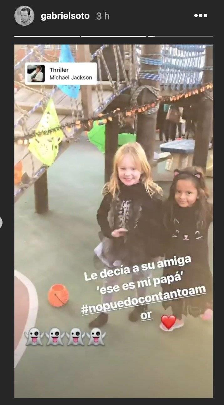 Hija de Gabriel Soto y Geraldine Bazán
