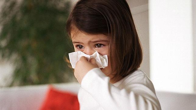 Niñas resfriadas