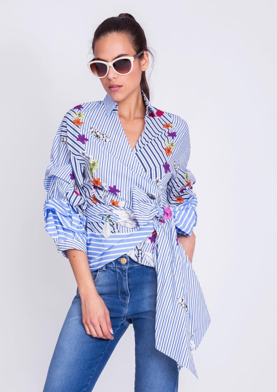 blusas cruzadas
