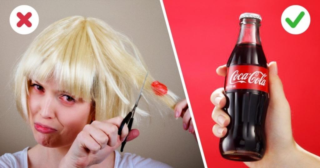 Truco de cocina con Coca Cola