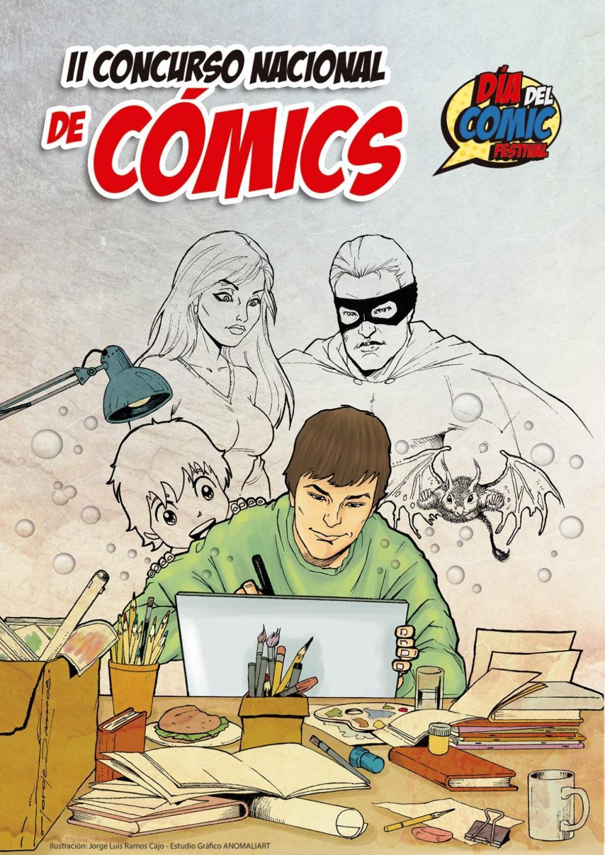 Afiche del Día del Cómic