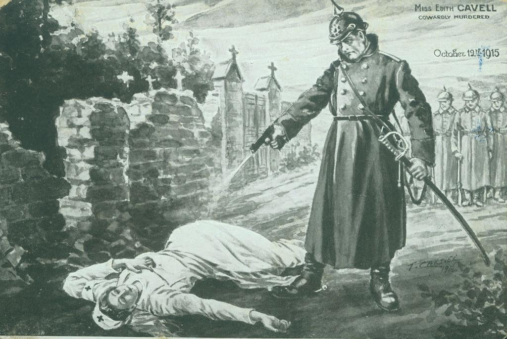 Edith Cavell muerte