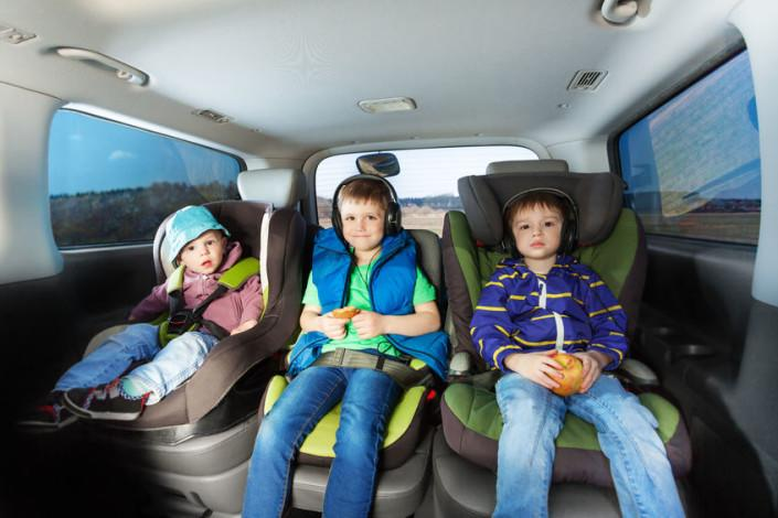 Viaje seguro con niños