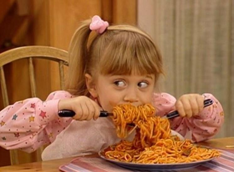 Comer pasta