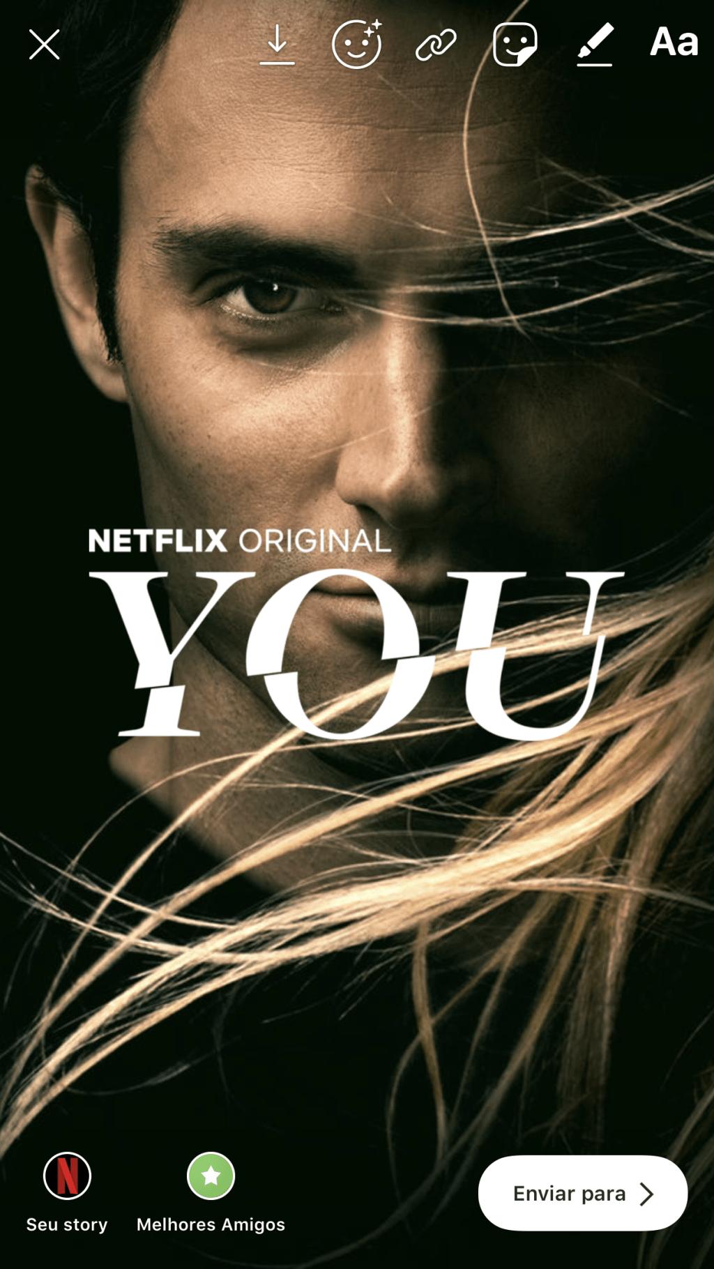 Instagram y Netflix