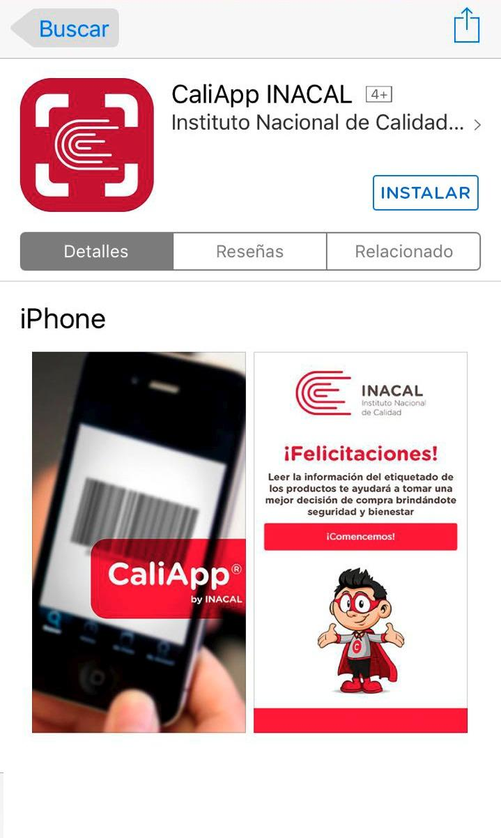 App Inacal