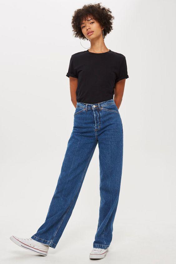 jeans rectos