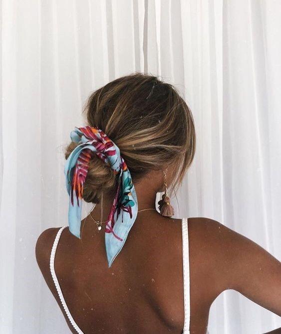 peinado para la playa