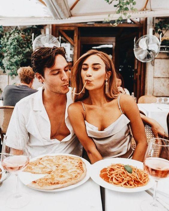 restaurante pareja