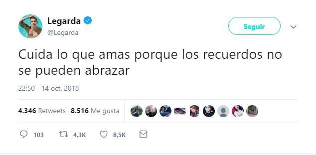 Tuit de Fabio Legarda