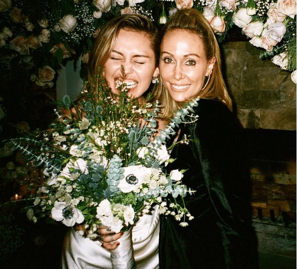 Miley Cyrus y su mamá