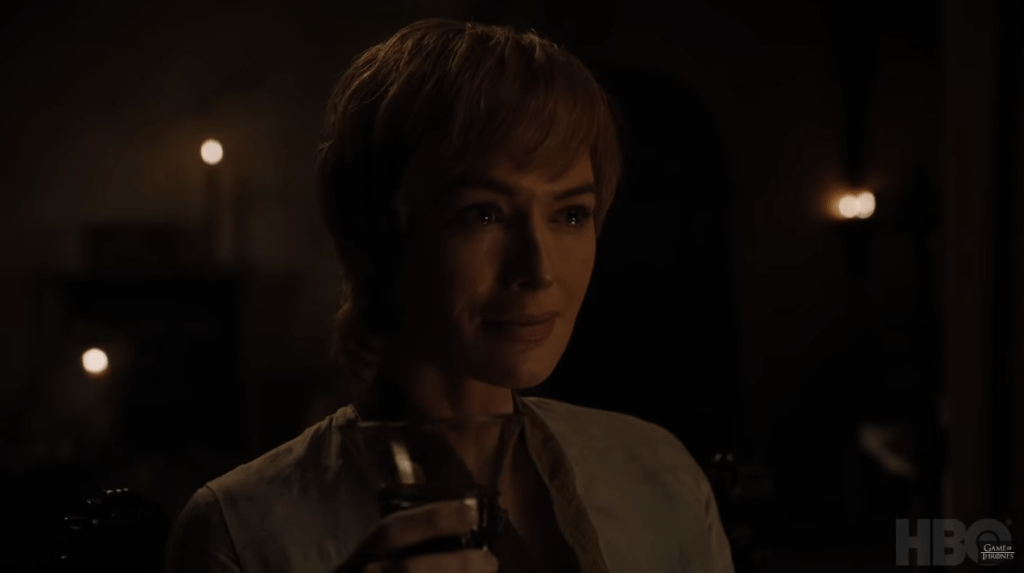 Cersei llorando