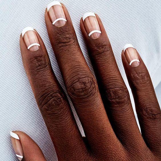 tendencia en manicure de uñas