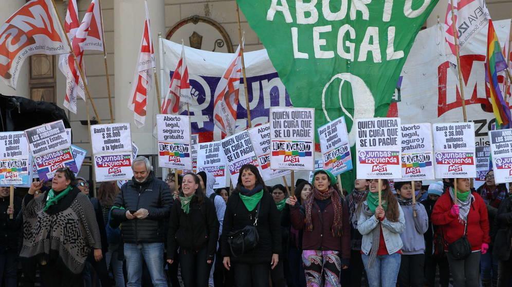 marcha por aborto legal Argentina