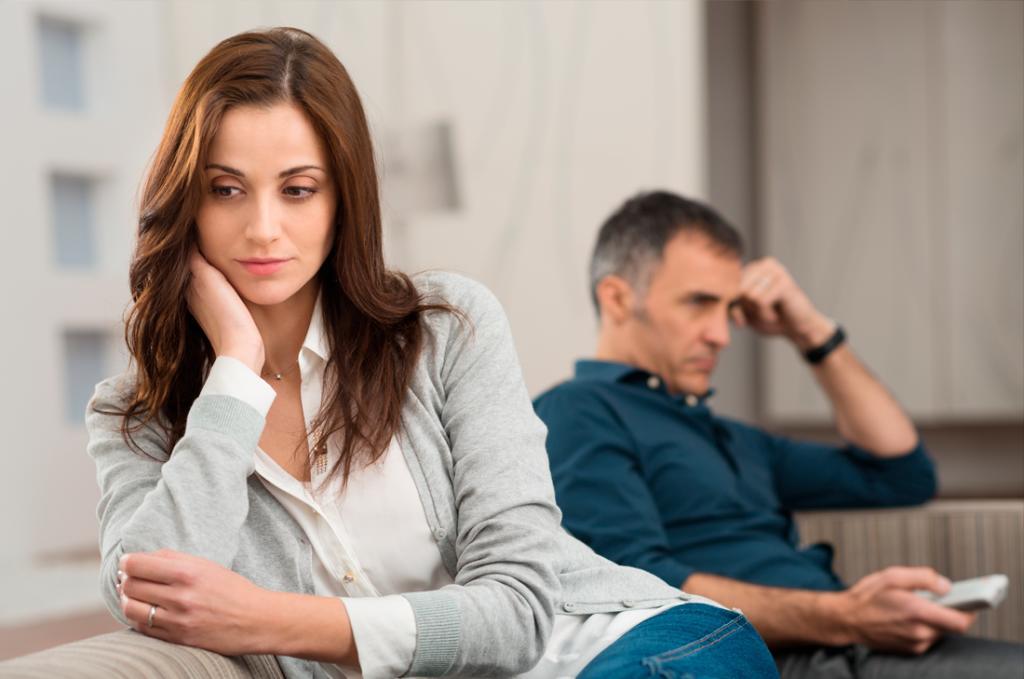 parejas que siguen sin amor