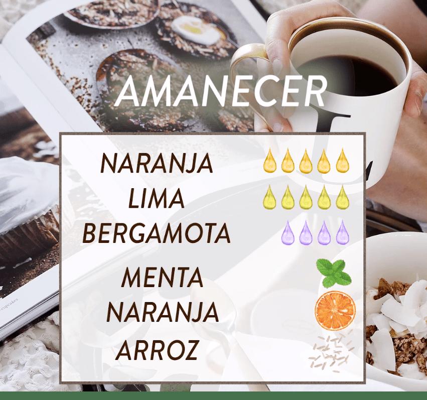 DIY Aroma amanecer
