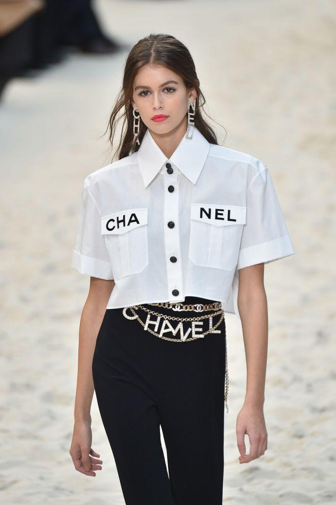 Cinturones de cadena de Chanel