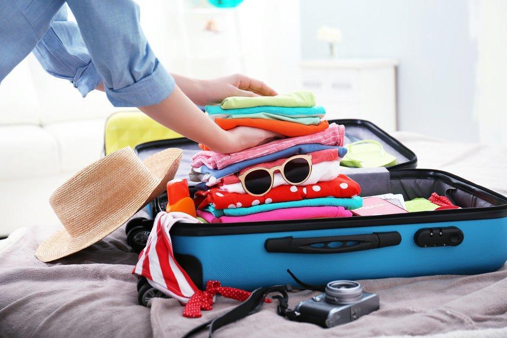 Haz una maleta ligera para no facturar