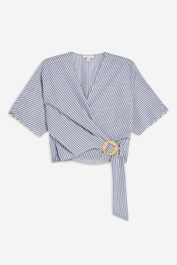 Blusa wrap