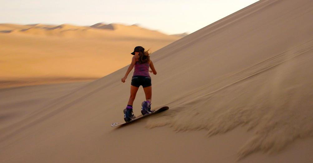 Ica, Sandboarding