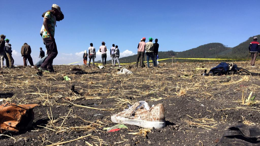 Tragedia aerea Etiopía