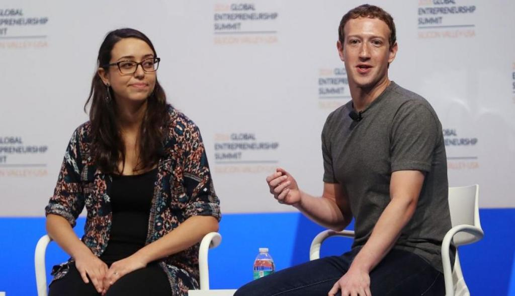 Mark Zuckerberg Mariana Costa