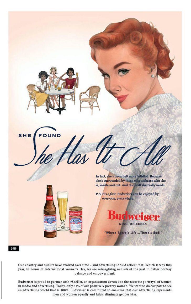 publicidad de cerveza