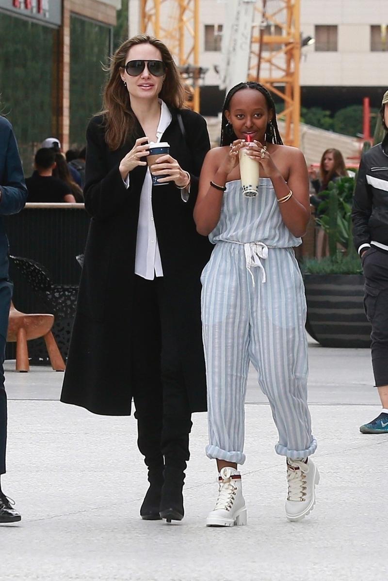 Angelina Jolie y Zahara