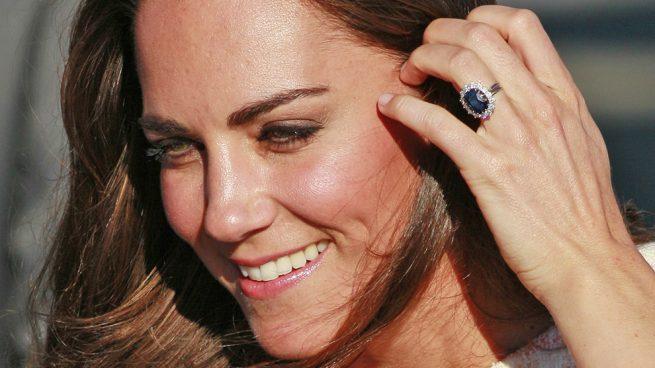 Kate Middleton anillo de compromiso