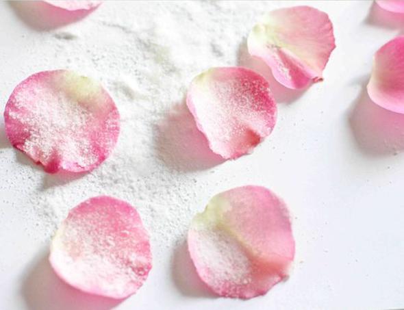 Flores glas comestibles