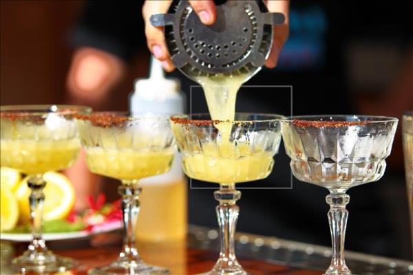 Tequila caballito