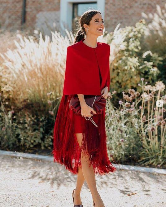 total look red