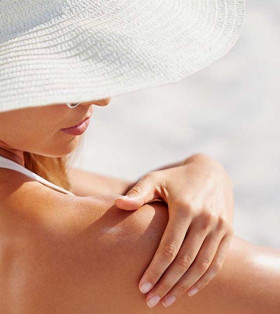 cuidado de la piel bloqueador