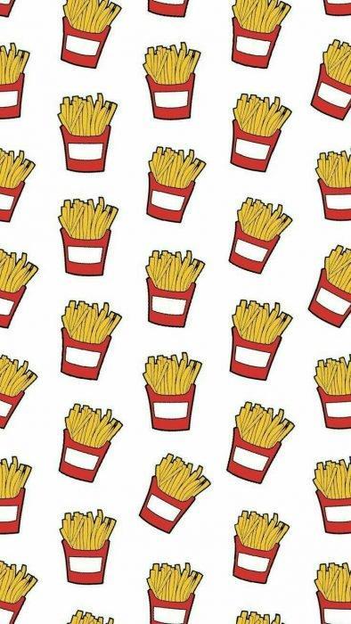 Mosaico french fries fondo tumblr