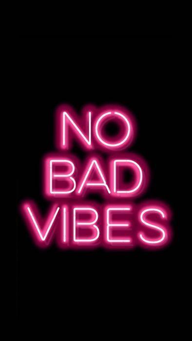 NO BAD VIBES fondo tumblr