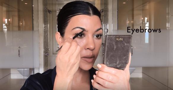 maquillaje kourtney kardashian