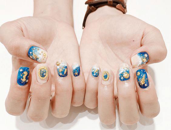 manicure para ir a la playa 2019