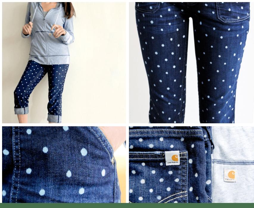 Dots jeans