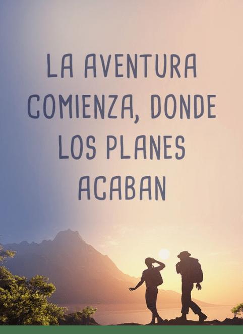 Frases viaje aventuras