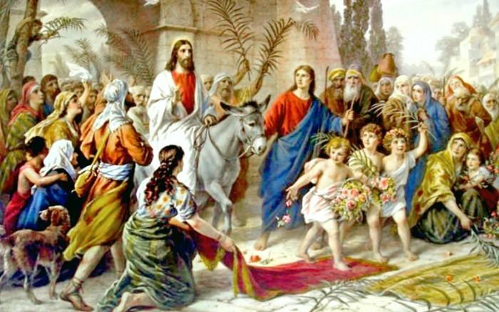 Entrada de Jesús a Jerusalén