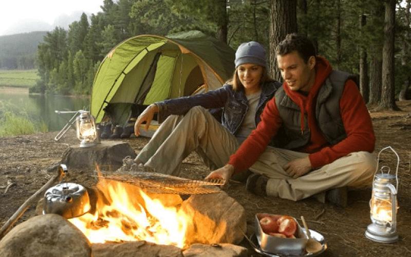 alimentos campamento