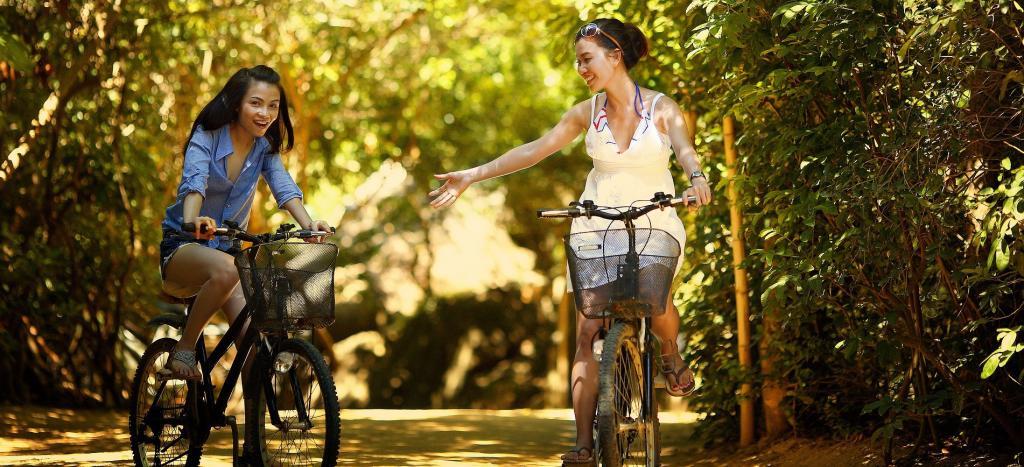 manejar bicicleta