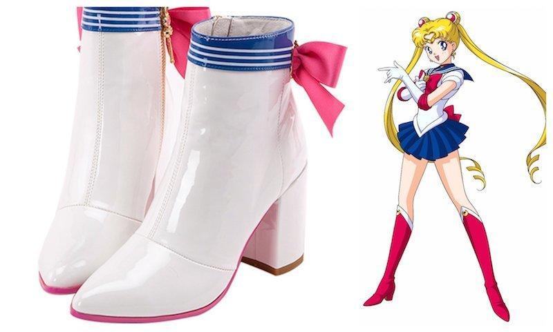 sailor moon zapatos